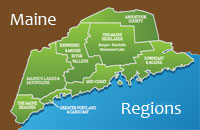 Maine Regions of the State